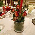 Décoration de table de fêtes