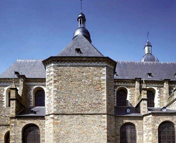 Rennes, Basilique Saint Sauveur, le choeur