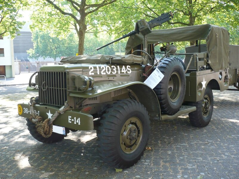 DODGE WC51 Weapons Carrier sans treuil 1944 Strasbourg (1)