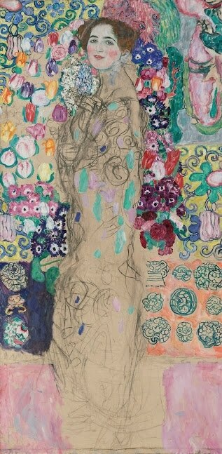 Klimt_Portrait of Ria Munk III