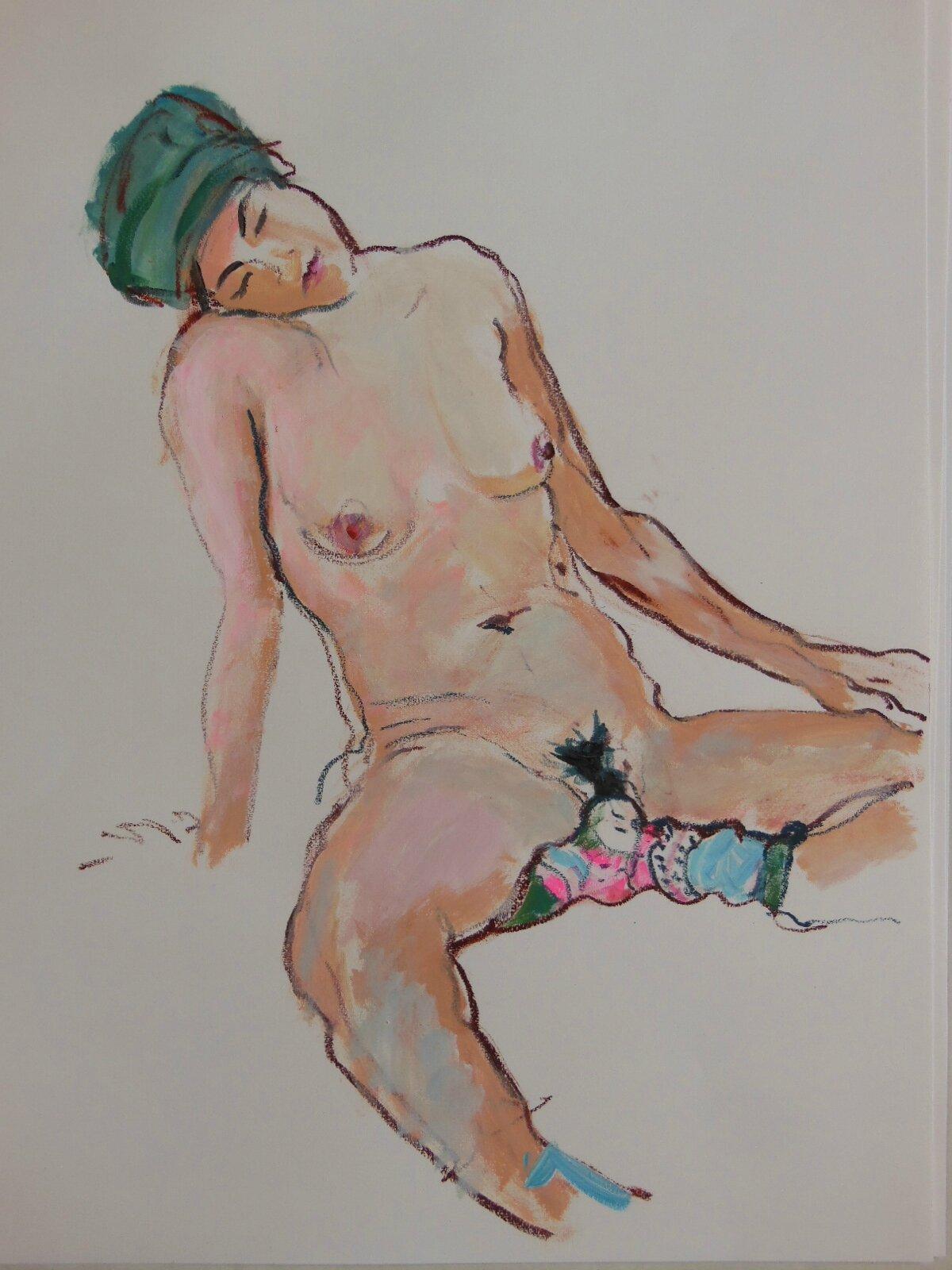 dessin peinture tableau de nu beaux art (8)
