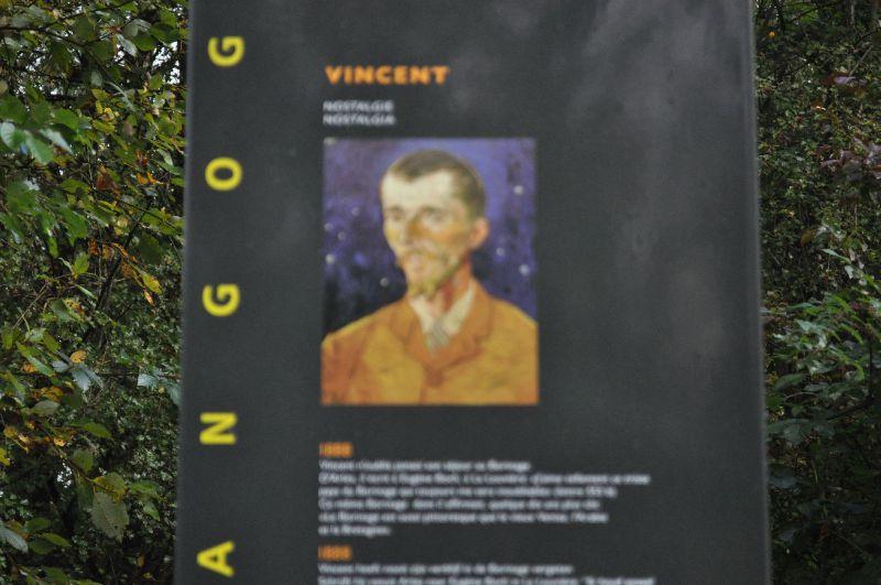 Cuesmes - Maison Van Gogh panneau 1