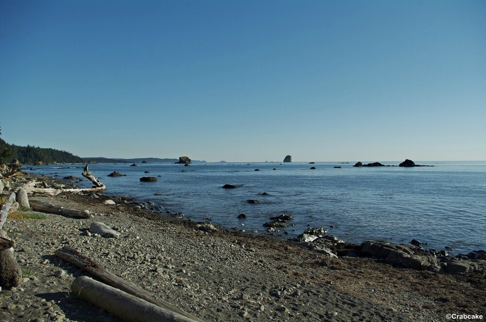 Ozette Indian Reservation beach
