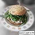 Sandwich complet au thon ( 415 cal/ par personne)
