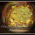 Clafouti de reste de légumes