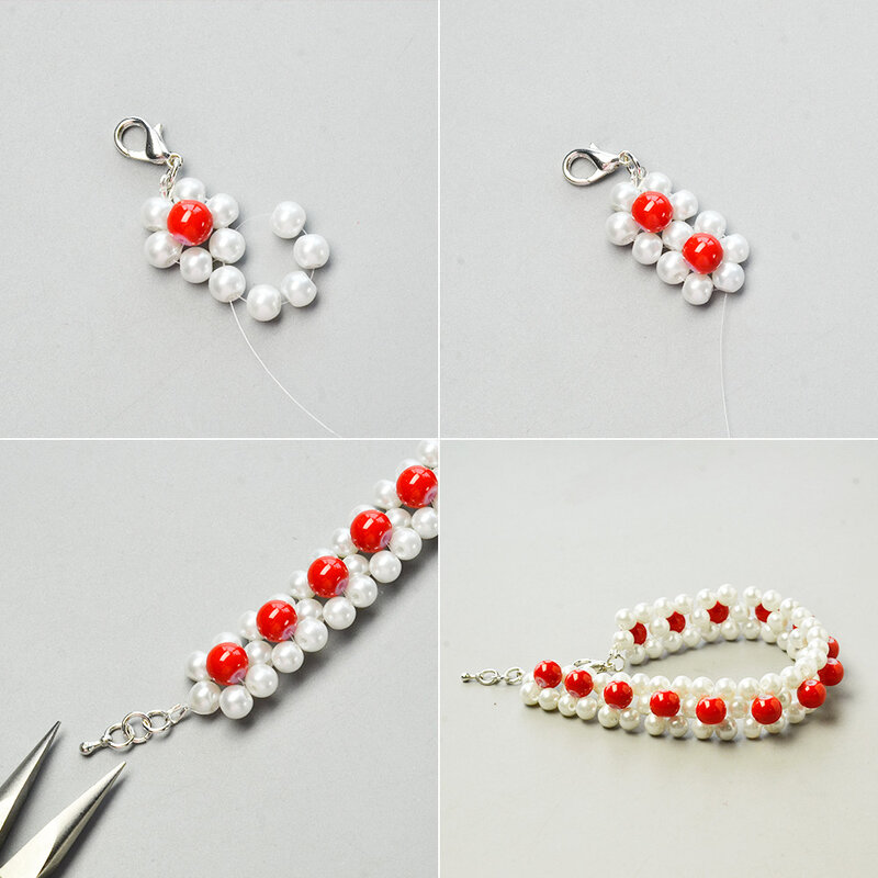 Tutorial-on-Making-a-Pearl-Beads-Stitch-Bracelet-3