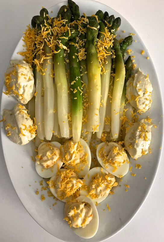 asperges mimosa