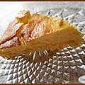 Cheesecake vanille et citron