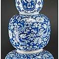 J.p. morgan's triple gourd vase featured in inaugural asian art signature auction