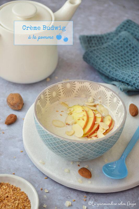 creme budwig a la pomme healthy vegan sans gluten (1)