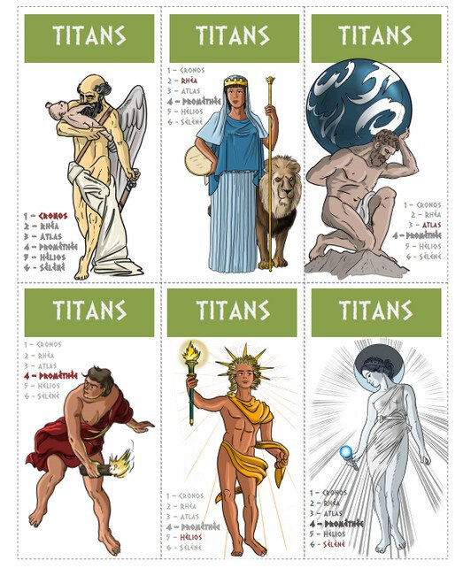 7 familles mythologie