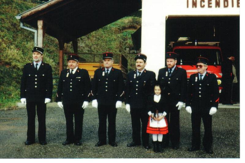 sainte barbe 1992 remise de médailles