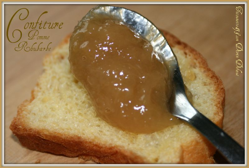 confiture rhubarbe thermomix
