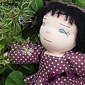 Li hua (adoptée) poupée à la peau rose claire, li