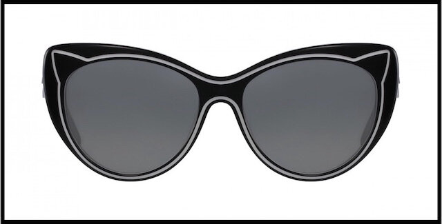 karl lagerfeld lunettes solaires piping 1