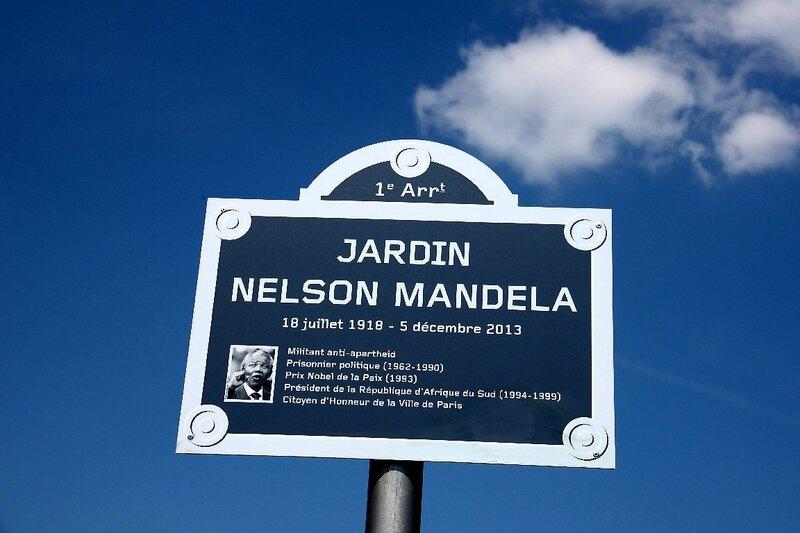 7-Hommage à Mandela, jardin des Halles_7957