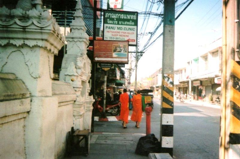 Chiang Maï Bonzes