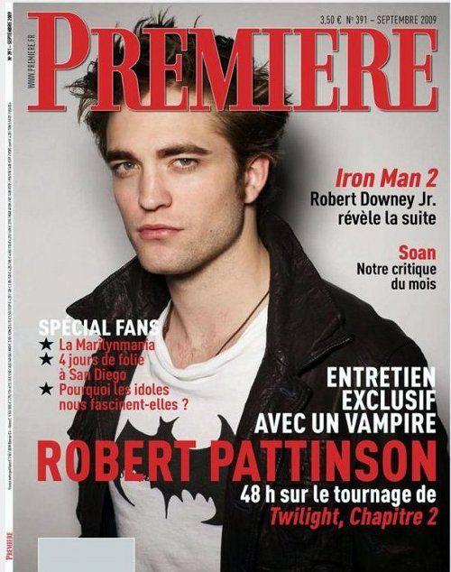 page de couverture magazine