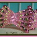 Croco rose ss flash © B