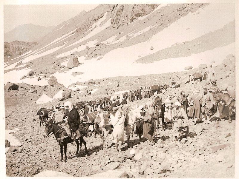 28 Mai 1939 Inaugurationrefuge Toubkal Nelter