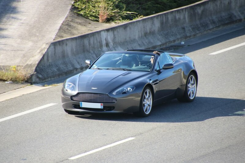 Aston Martin Vantage cabriolet