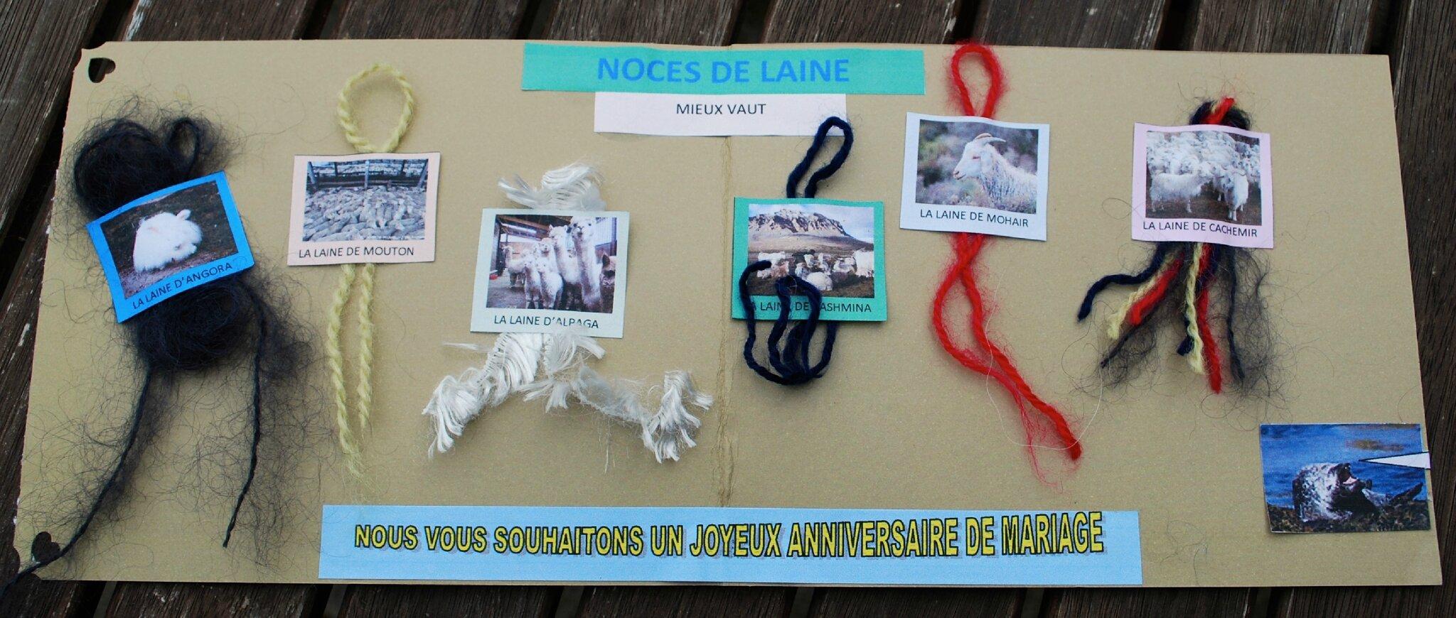 Noces De Laine Le Scrap De Capucine Et Scarabée