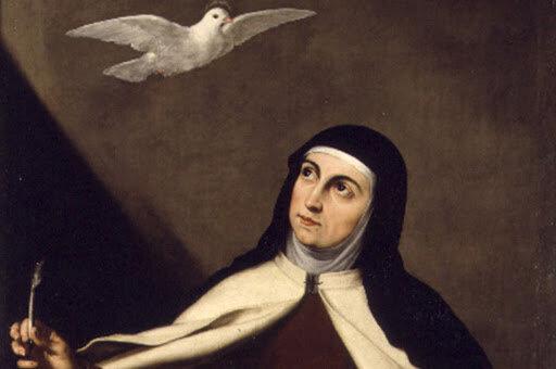 Thérèse d'Avila inspirée
