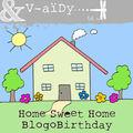 Happy blogobirthday to you vidgie !