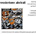 Présentation expressionisme abstrait