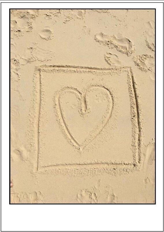 5 carré coeur