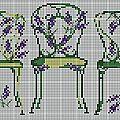 grille-chaises-vertes