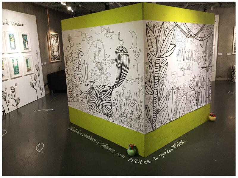 Exposition Fantaisie Végétale / Le Colysée