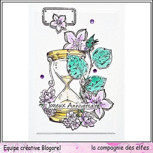 blogorel lcde carte anni fleurs loreeduscrap