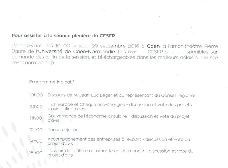 ceser convocation inutile 2