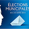 Élection municipale 2014