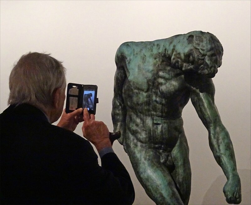 Paris expo Rodin photo homme nu 240417