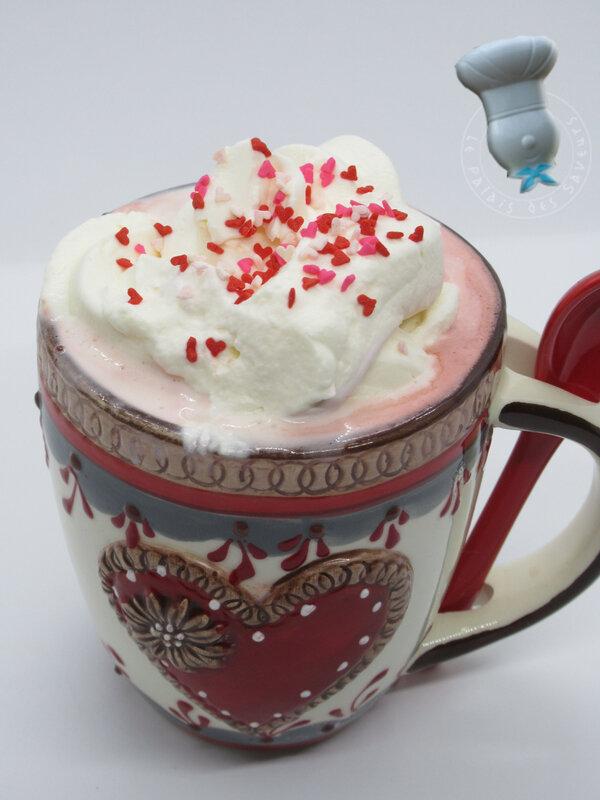 Chocolat chaud red velvet