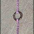 Bracelet anneau et liberty
