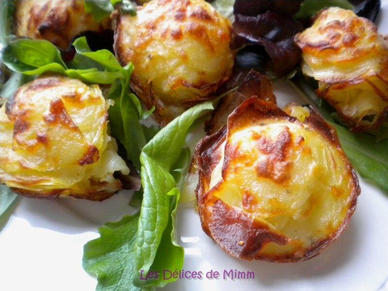 Petits croustillants de pommes de terre au parmesan 5