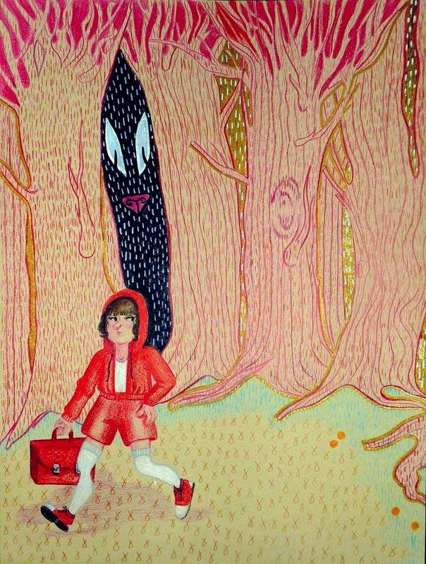 Little_Red_Riding_Hood_by_MisoShiru