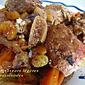Sauté de porc au fruits secs et aux épices
