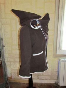 veste de portage chocolat doublé chocolat blanc féérique (4)