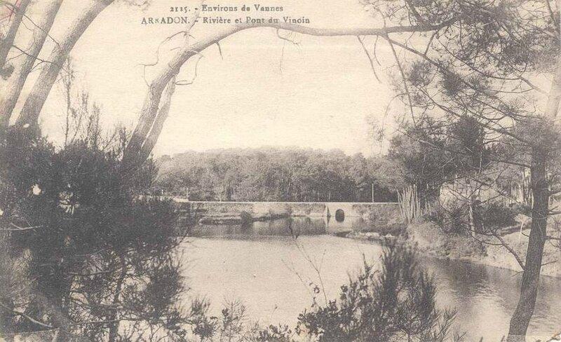 Rivière et pont de vincin