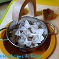 Farfalles en feutrine (10 euros les 15 pâtes)