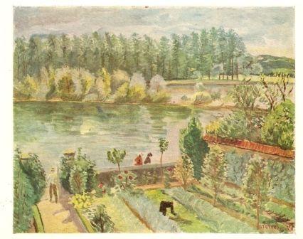 Jardin bord de Loire Terechkovitch
