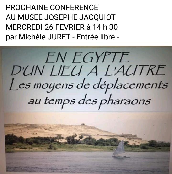 En route pour l'Egypte en transports en commun.....au temps des Pharaons !