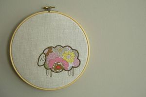 sheep-wall-hanging