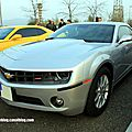 Chevrolet camaro RS de 2011 (Rencard Burger King avril 2012) 01