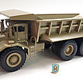 Berliet t100 benne. smith pour virus. 1/50.