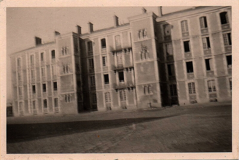 Caen, Quartier Claude Decaen, Photo allemande Caen Kaserne 1940-1944